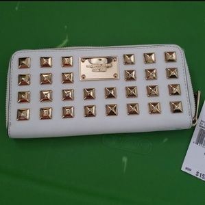 Long Studded Michael Kors Wallet